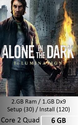 Alone in The Dark Illumination  [ 6 GB ]